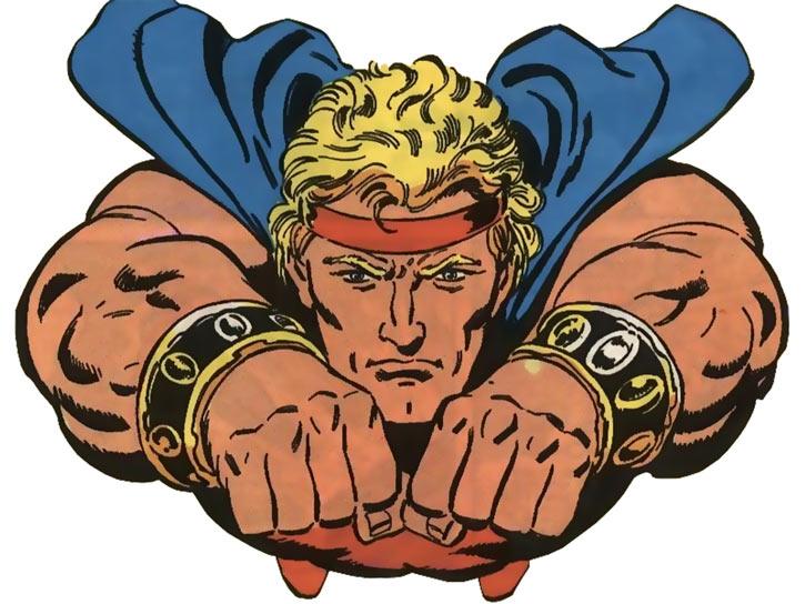 Quasar (Marvel Comics) (Vaughn) (Classic) - flying fists first