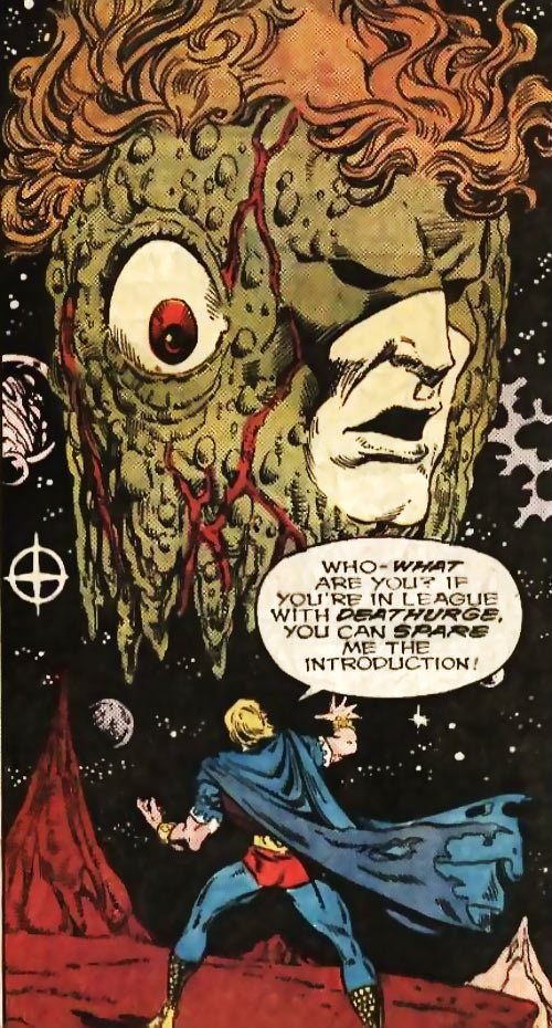 Quasar (Marvel Comics) (Vaughn) (Classic) - with Eon