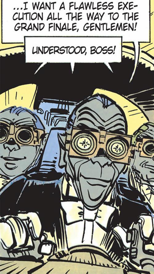 Quatuor Mortis hitmen (Valerian & Laureline)
