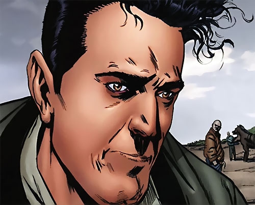 Qubit (Irredeemable comics) face closeup