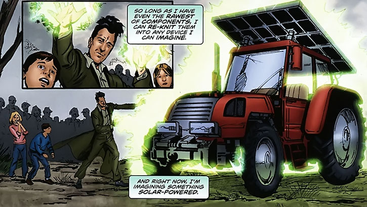 Qubit assembles a solar-powered tractor