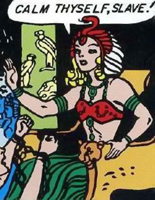 Queen Clea of Atlantis (Wonder Woman enemy) (Golden Age DC Comics)