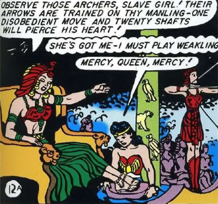 Queen Clea and Wonder Woman