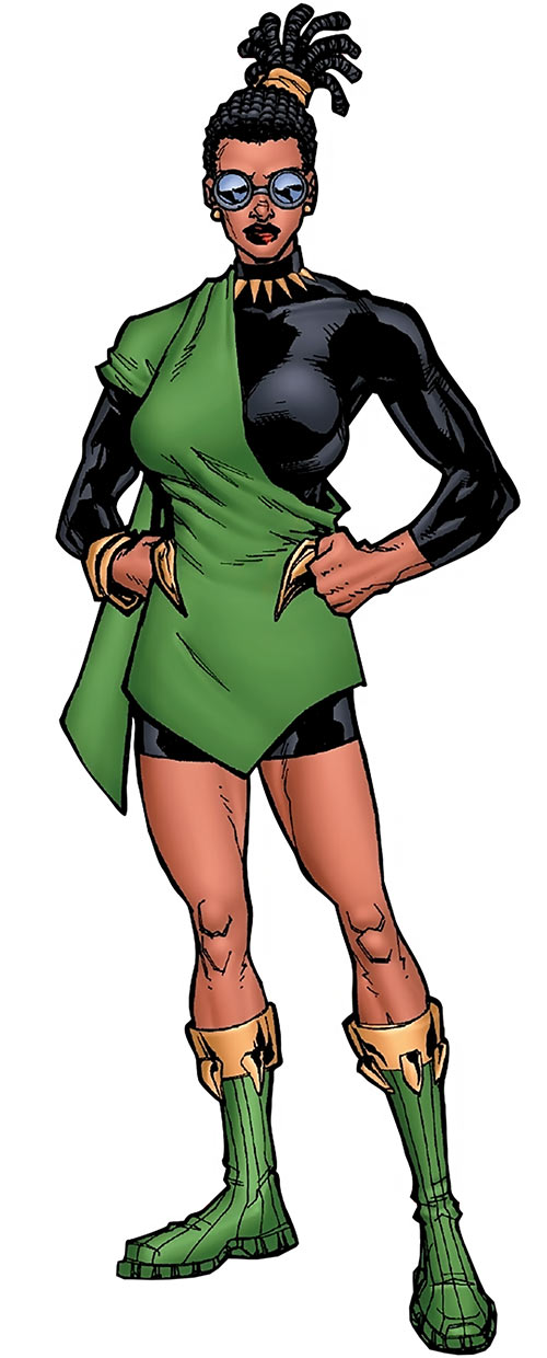 Queen Divine Justice (Black Panther character) (Marvel Comics)