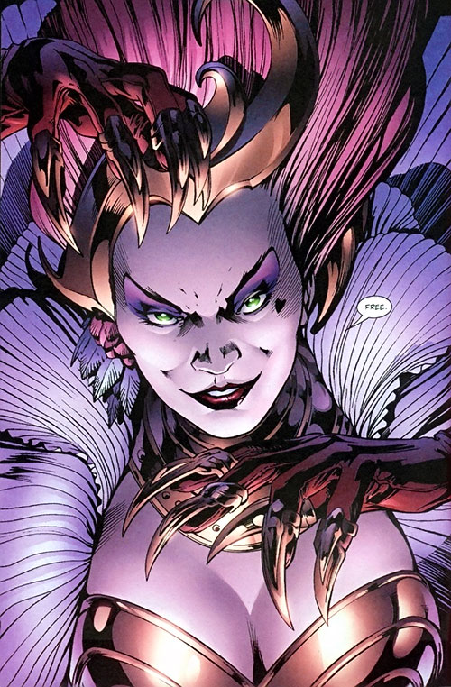 Queen of Fables face closeup