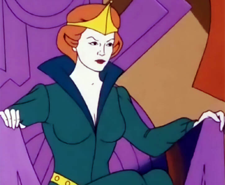 Queen Marlena (1980s Masters of the Universe) throne severe