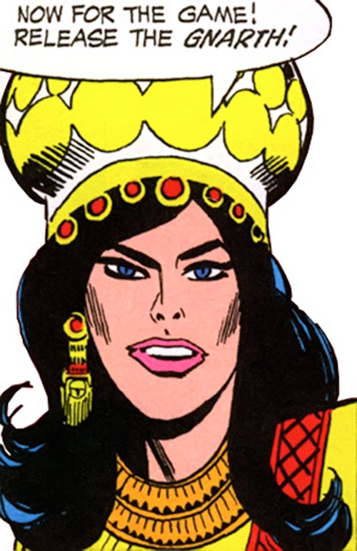 Queen of Chaldonor (Wonder Woman enemy) (DC Comics)