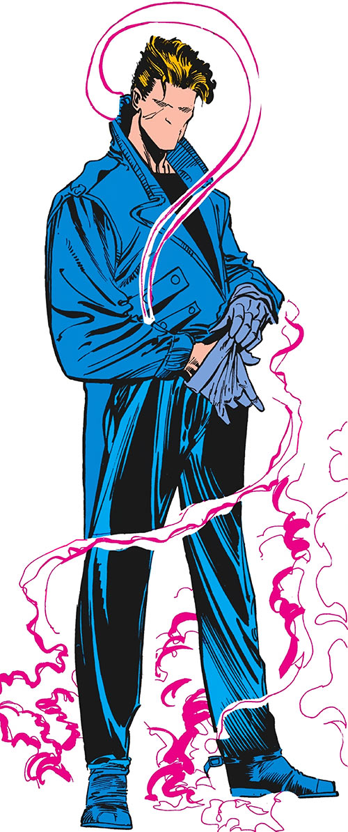 The Question - DC Comics - Denys Cowan art in the 1980s Who's Who