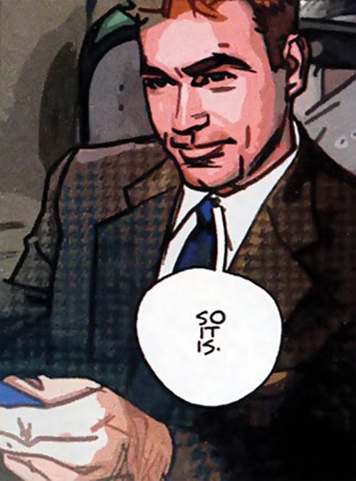 The Question (DC Comics) (Veitch urban shaman version) as Vic Sage