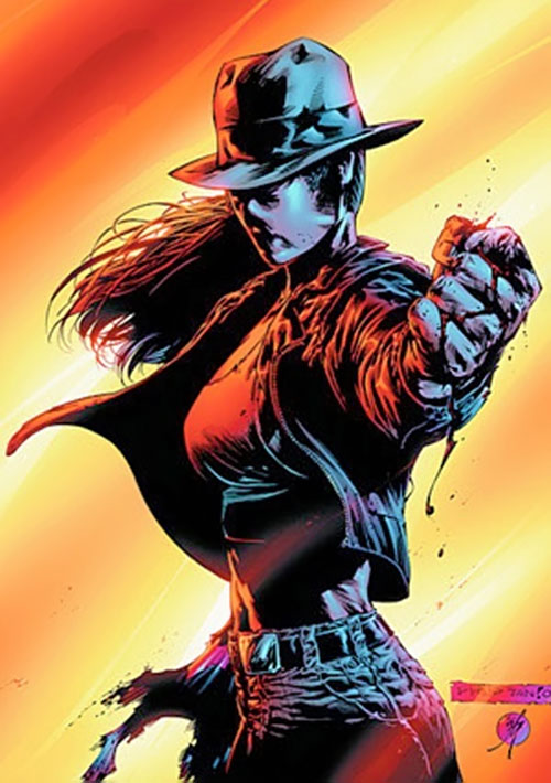 Question (Renee Montoya) (DC Comics) by Tan