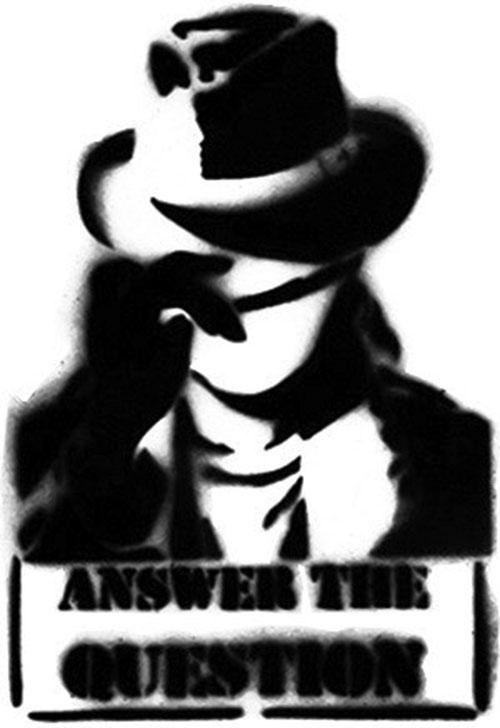 Question (Renee Montoya) (DC Comics) tag