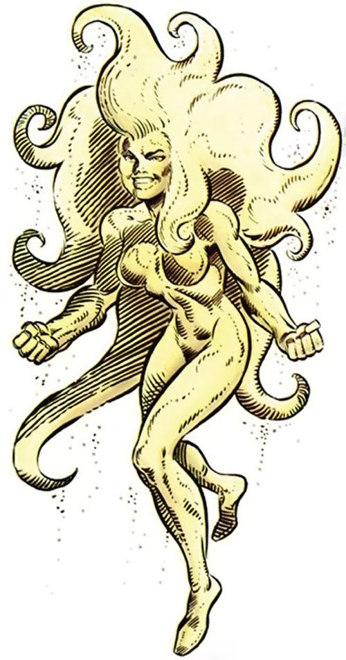 Quicksand (Thor enemy) (Marvel Comics) TSR gamer handbook