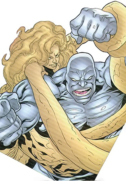 Quicksand (Thor enemy) (Marvel Comics) and Ironclad