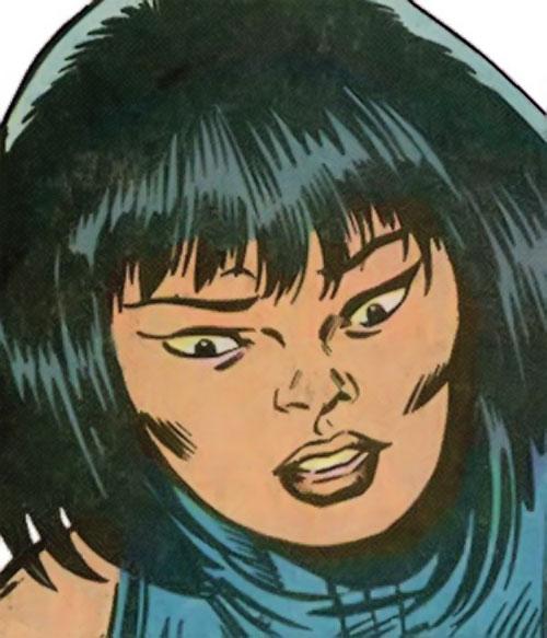 Quicksand (Thor enemy) (Marvel Comics) human face closeup