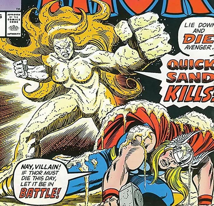 Quicksand vs. Thor (cover art)