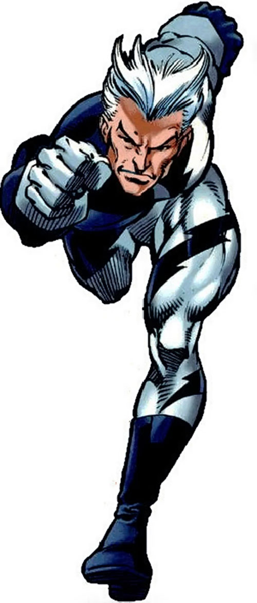 Quicksilver (Marvel Comics) dashing