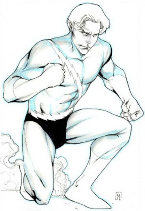 Quicksilver (Marvel Comics) sketch
