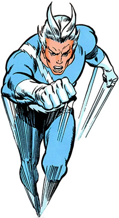 Quicksilver (Marvel Comics) during the 1970s