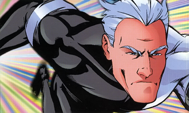 Quicksilver (Pietro Maximoff) face closeup