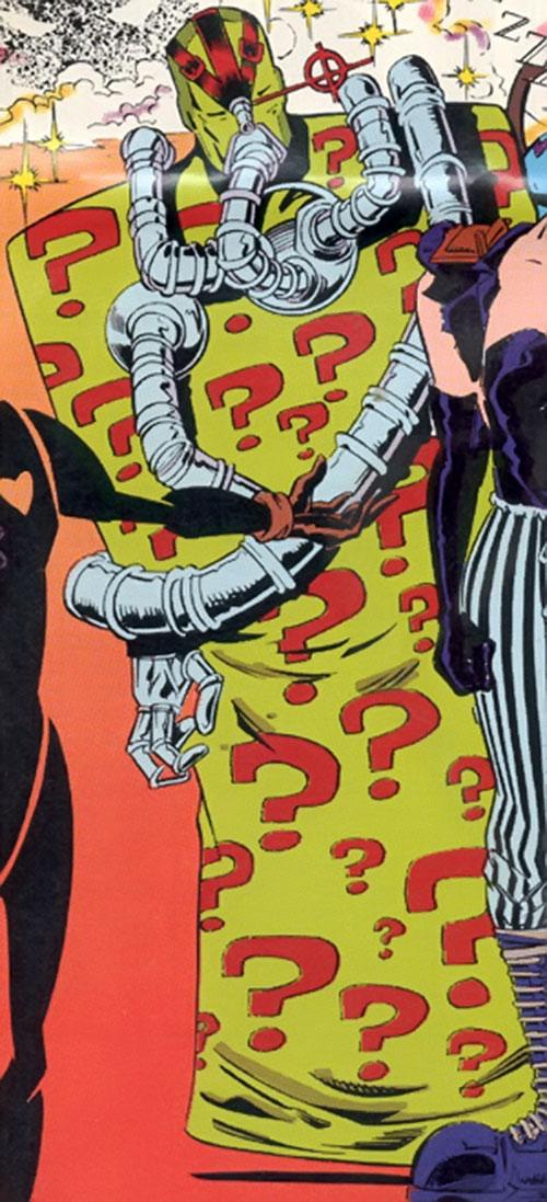 Quiz of the Brotherhood of dada (Doom Patrol) (DC Comics)