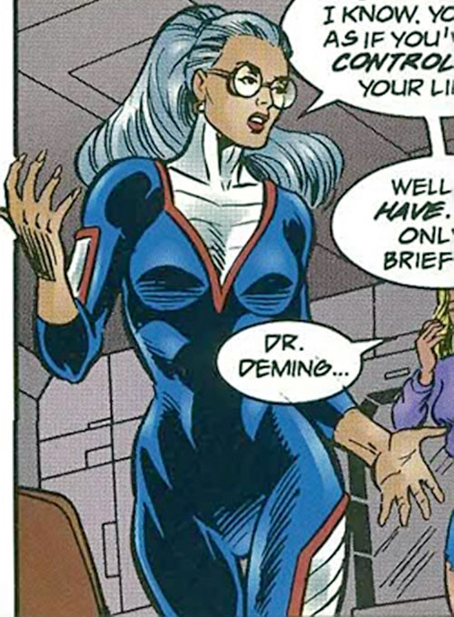 Doctor Rachel Deming of the Exiles (Malibu Comics Ultraverse)