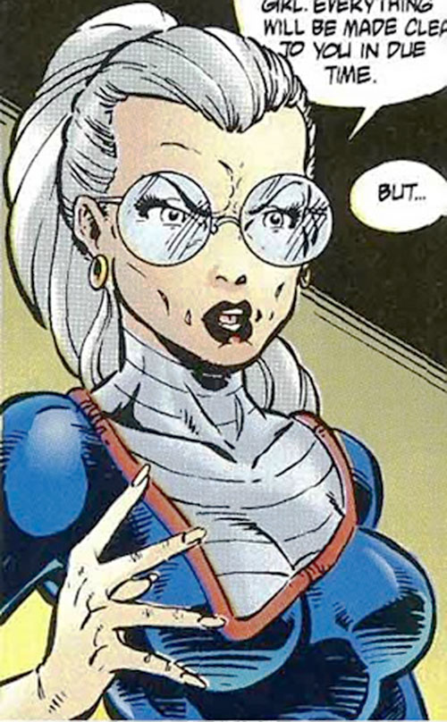 Doctor Rachel Deming of the Exiles (Malibu Comics Ultraverse) closeup