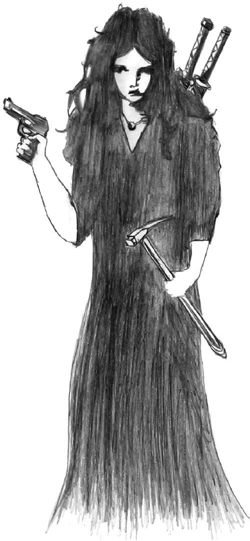 Rachel Mullan P.I. (DC Heroes RPG)
