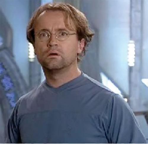 Radek Zelenka (David Nykl in Stargate Atlantis) is speechless
