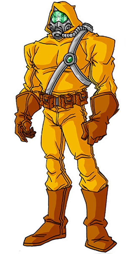 Radioactive Man by RonnieThunderbolts (radiation suit)