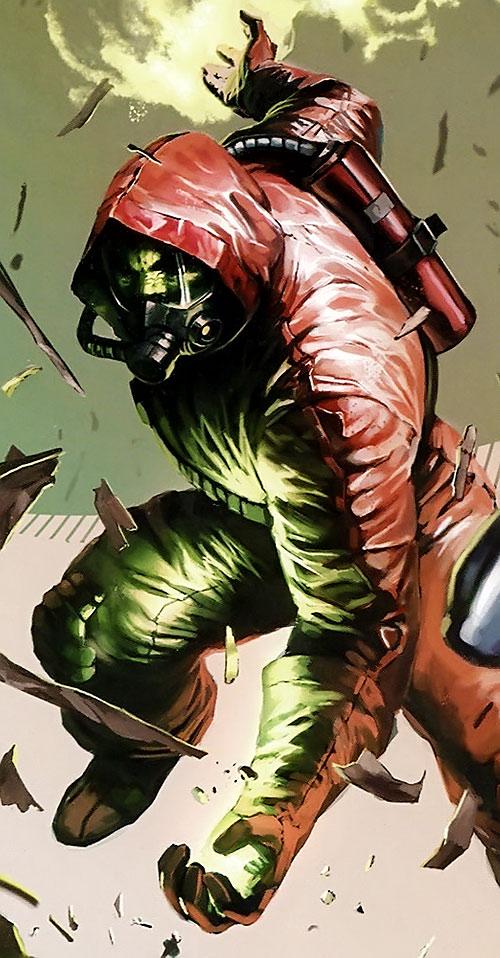 The Radioactive Man in a hazmat suit
