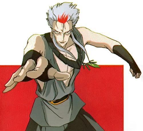 Ragansi aka Rei Ginsen aka Reiginsen (Vampire Hunter D enemy)