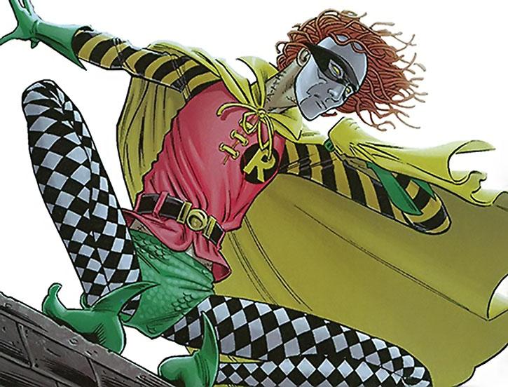 Ragdoll (Peter Merkel Jr.) disguised as Robin