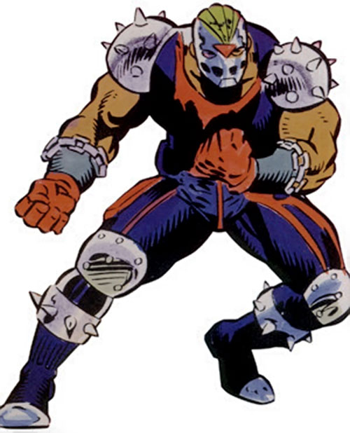 Rage (Marvel Comics) with his New Warriors-era costume