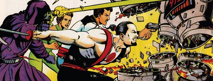 Rai (Valiant Comics 1990s) (Takao Konishi) and his allies