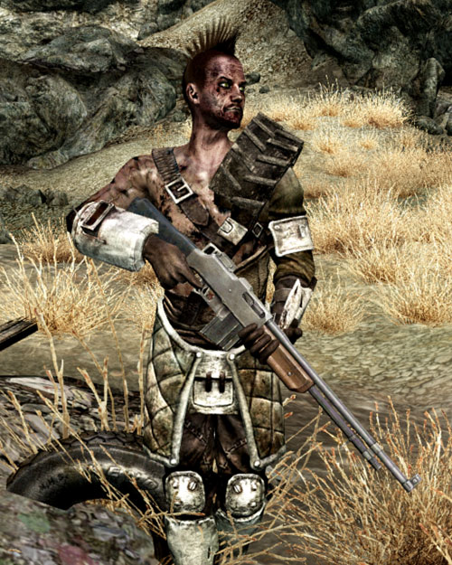 Fallout 3 raider - guy with a Bar