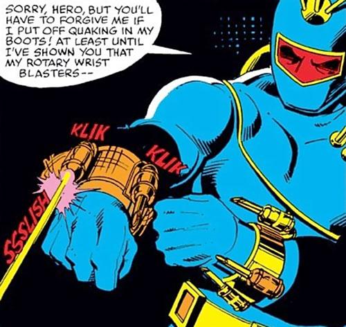 Raiders (Iron Man enemies) (Marvel Comics) wrist blasters