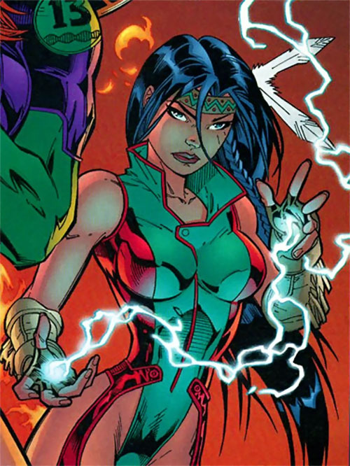 Sarah Rainmaker (Gen 13) (Image Comics)