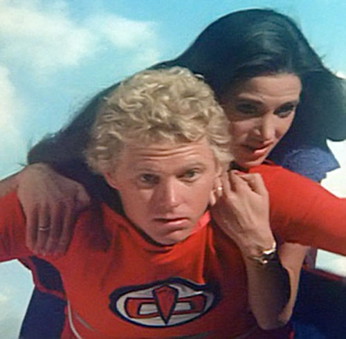 Ralph Hinkley (William Katt in Greatest American Hero) flying with Pam