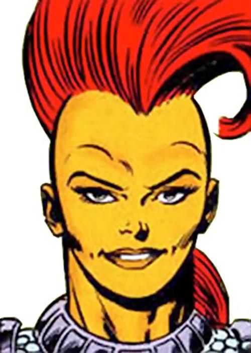 Rampage (Superman character) (DC Comics) face closeup
