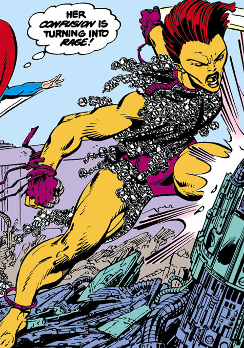 Rampage vs. Superman (DC Comics)