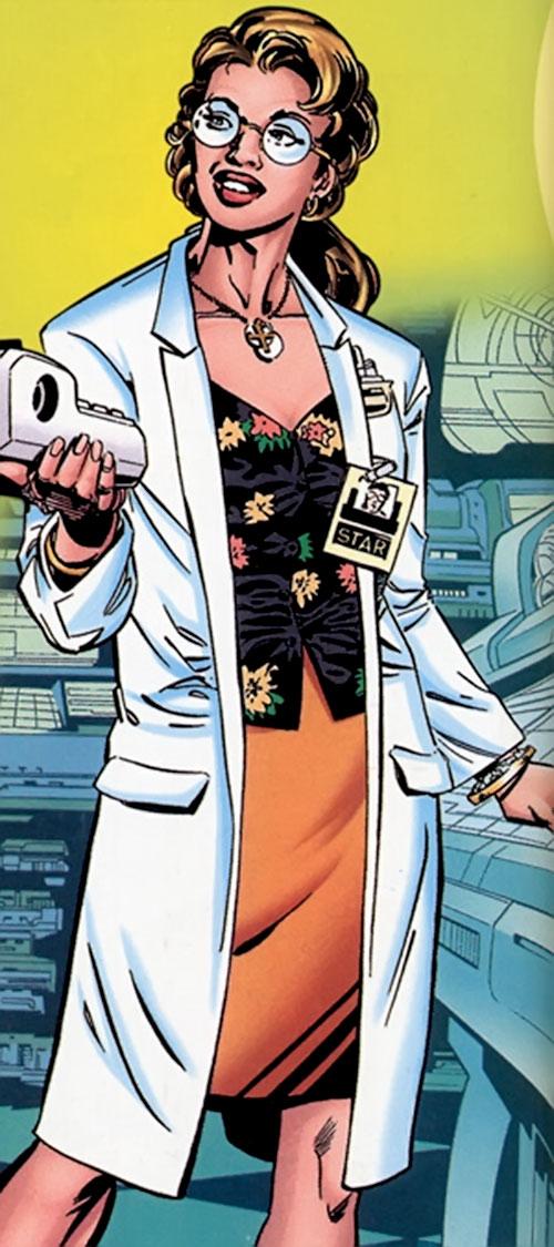 Rampage (Superman character) (DC Comics) as Kitty Faulkner