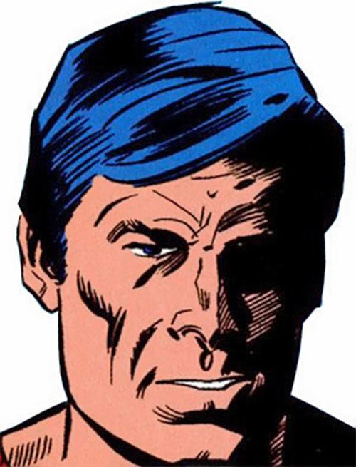 Rampage (Clarke) (Marvel Comics) face closeup