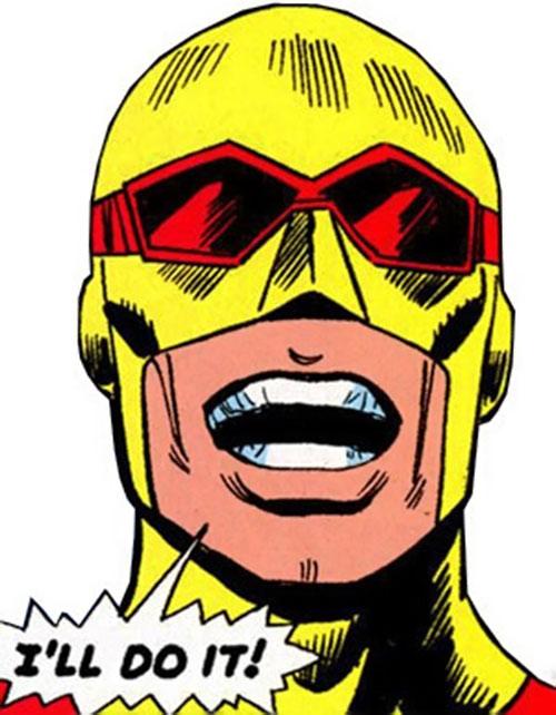 Rampage (Clarke) (Marvel Comics) closeup in costume
