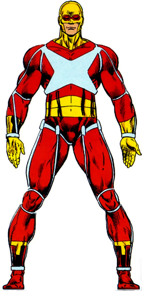 Rampage (Clarke) (Marvel Comics) from the Master Edition handbook