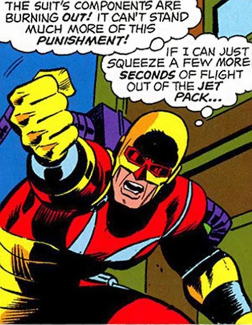 Rampage (Clarke) (Marvel Comics) shaking his fist