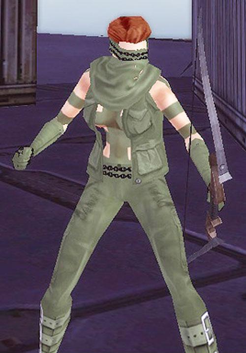 Ranger X (City of Heroes character generator) 1/3