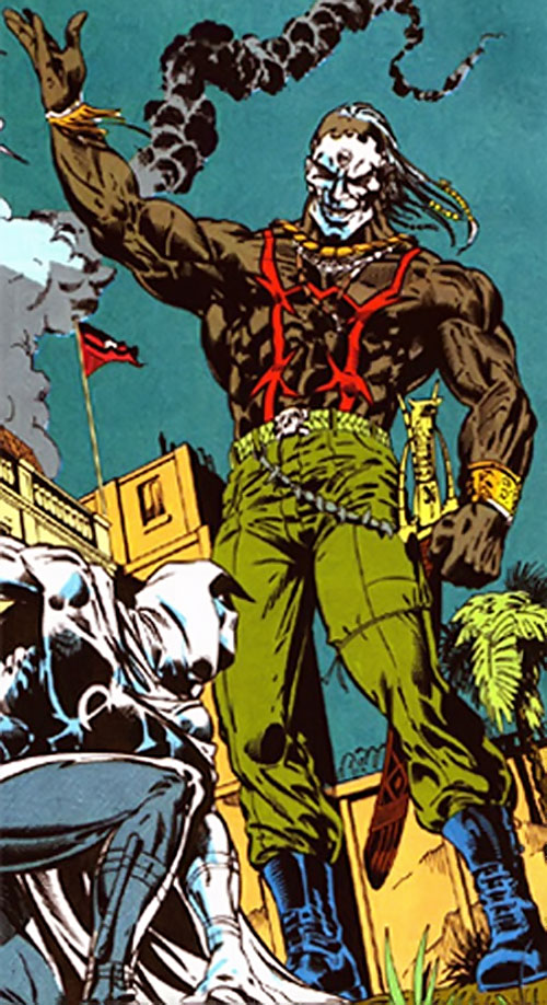 Raoul Bushman (Marvel Comics) vs. Moon Knight