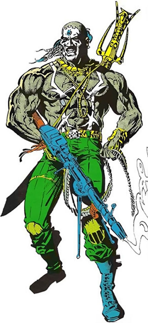 Raoul Bushman (Moon Knight enemy) (Marvel Comics)