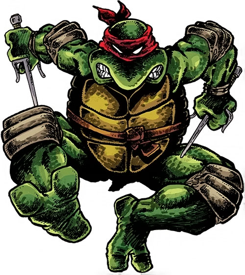 Raphael of the Teenage Mutant Turtles (TMNT comics)