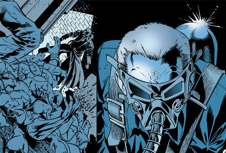 The Ratcatcher (Otis Flannegan) mask closeup